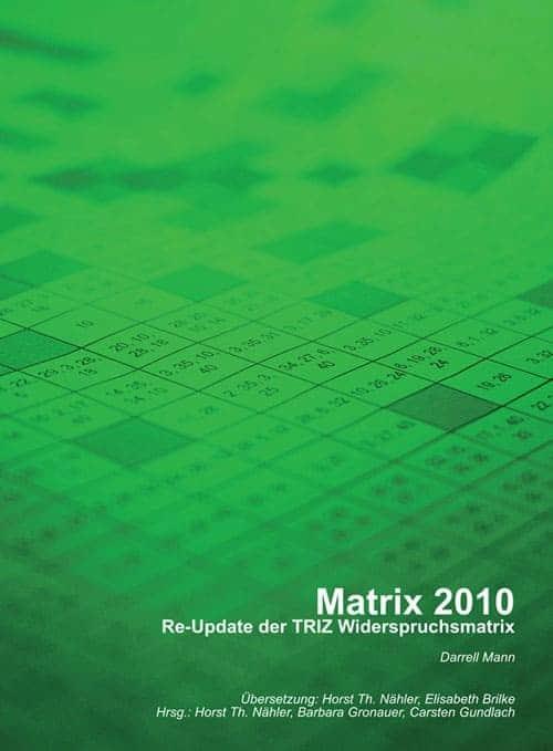 Buch: Matriz 2010 - Re Update der Widerspruchsmatrix