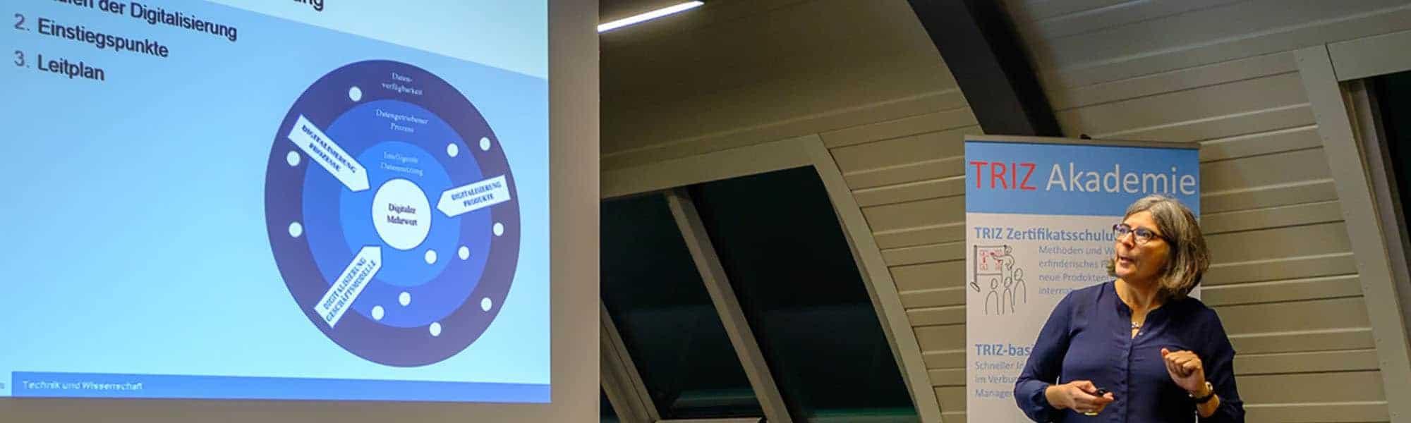 TRIZ Akademie_TRIZ Vortrag Digitalisierung